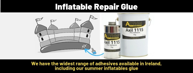Learn about the perfect glue to repair inflatable PVC